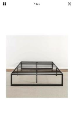 Full Size Zinus Abel 14 Inch Metal Platform Bed Frame with S