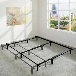 Adjustable 7 Inch Metal Platform Bed Frame, Compatible With