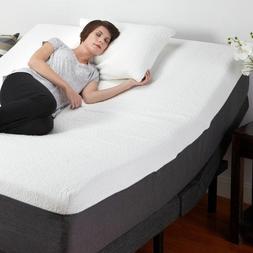 Adjustable Base Electric Bed Frame With Mattress Massage Rem