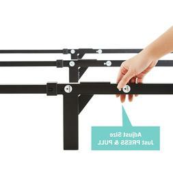 Adjustable Bed Frame 7 Inch Durable Heavy Duty Steel Platfor