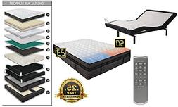 adjustable wireless remote one bed