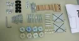 Almost Complete IKEA Replacement Parts Hardware Kit for Malm