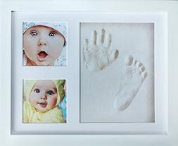 My Mini Moe Newborn Baby Handprint Kit & Footprint Photo Fra