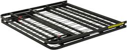 Basics Platform Bed Frame, Black, Twin