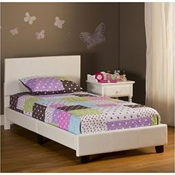 """Kid's """"Bed in a Box"""" Bed in White"""