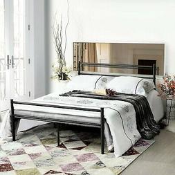 GreenForest Bed Frame Full Size, 10 Legs Mattress Foundation