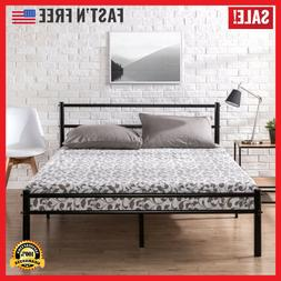 Bed Frame King Size Metal Platform With Headboard And Footbo