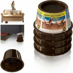 Bed Frame Leg Risers Lift Furniture Risers 2 Inch High Sofa