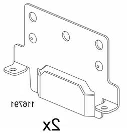 Ikea Bed frame mounting plate, Part # 116791  - NEW