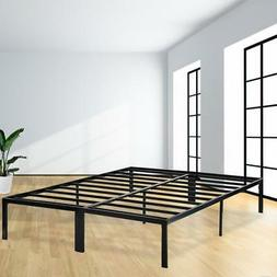 Bed Frame Platform Bed Frame Full Metal Base Mattress Founda