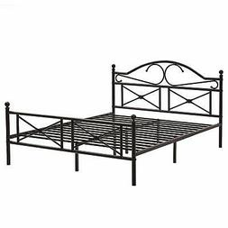 GreenForest Bed Frame Queen Size with Headboard and Footboar