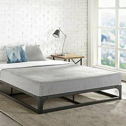 """MELLOW Full 9"""" Metal Platform Bed Frame w/Heavy Duty Steel S"""