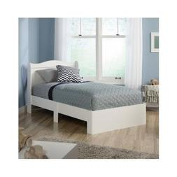 Bed Twin Day Daybed Kids White Wood Frame Guest Bedroom Wood