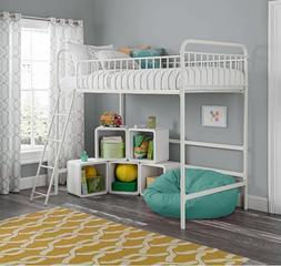 Loft Beds For Kids With Stairs Girls Teens Child Junior Twin