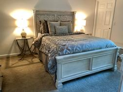 Ashley Furniture Bolanburg Collection Queen Bed Frame & Dr