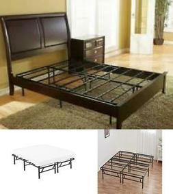 Box Spring Replacement Metal Platform Bed Frame Size Mattres
