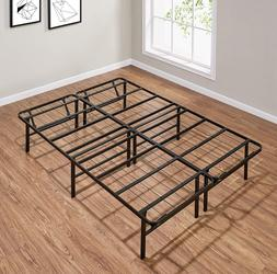 Box Spring Replacement Metal Platform Bed Frame FULL Size Ma