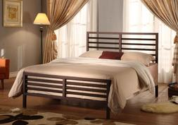 Bronze Metal Annabella Collection Bed Headboard Footboard Ra