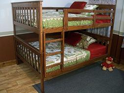 BEST TWIN BUNK BEDS FOR KIDS WITH LADDER, Twin Over Twin Bed