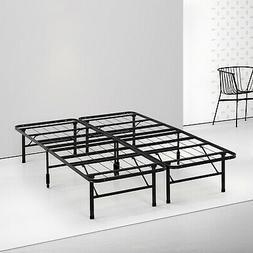 Spa Sensations by Zinus - Steel SmartBase Bed Frame Black, K