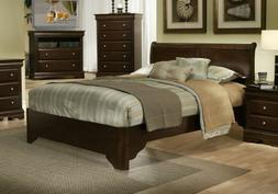 Chesapeake Full Size Low Footboard Sleigh Bed