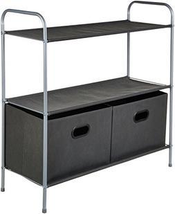 AmazonBasics Closet Storage Organizer with Bins