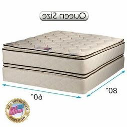 Coil Comfort PillowTop Medium Firm Queen Two-Sided Mattress