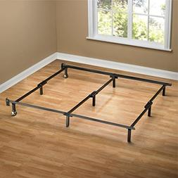 Sleep Revolution Compack Bed Frame with Wheels, King