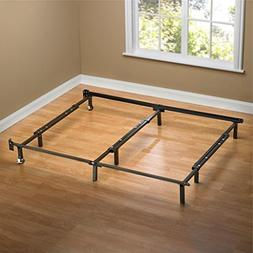 Sleep Revolution Compack Universal Bed Frame with Wheels, Fi