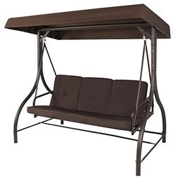 Converting Outdoor Swing Canopy Hammock Seats 3 Patio Dec W