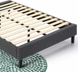 Zinus Curtis Upholstered Platform FULL Bed Frame  NC LOCAL P