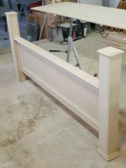 Custome Made Bed Frame. Chose a color that you want. These a