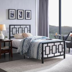 Dawn Modern Iron Twin Bed Frame