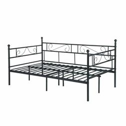 Greenforest Daybed Twin Bed Frame With Headboard And Stable