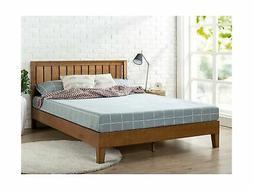 Zinus Alexis 12 Inch Deluxe Wood Platform Bed with Headboard