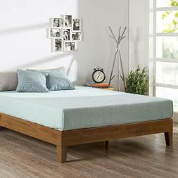 Zinus Alexis 12 Inch Deluxe Wood Platform Bed / No Box Sprin