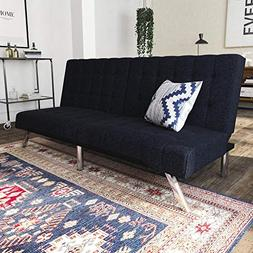 DHP Modern design with chrome metal legs Emily Convertible L