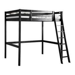 IKEA Full/Double Size Loft Bed Frame, Black 3426.20226.1416