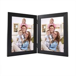 Giftgarden 5x7 Inch Double Picture Photo Frame Friends Gift