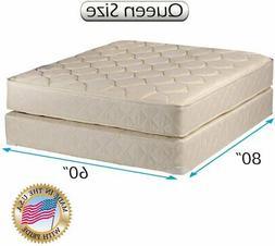 Dream Sleep Comfort Classic Gentle Firm Queen Mattress Set w