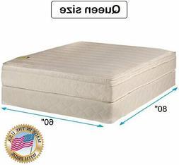 Dream Sleep Comfort Pedic Firm Queen Size PillowTop Mattress