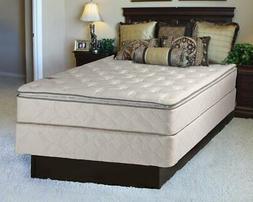Dream Sleep Sunset Plush Innerspring Queen Size Mattress Set