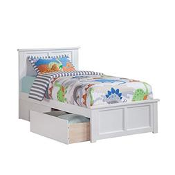 eco friendly twin wooden bed