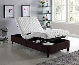 Home Life Electric Adjustable Platform Bed Frame with Remote
