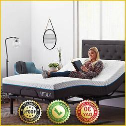 ELECTRIC BASE BED FRAME Remote Adjustable Multi Position Twi