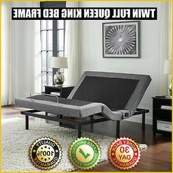 ELECTRIC BED FRAME Dual Massage Ergonomic Zero Gravity Adjus