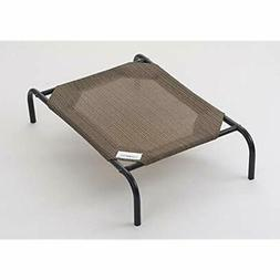 Coolaroo The Original Elevated Pet Bed, Large, Nutmeg