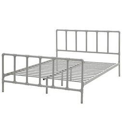 ern contemporary queen size platform bed frame
