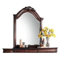 Acme Furniture Estrella 20734 Mirror, Dark Cherry