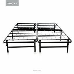 Foldable Bed Base - Bed Frame and Box Spring in One - by Str